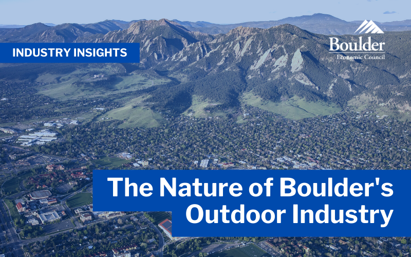 The nature of Boulder's outdoor industry
