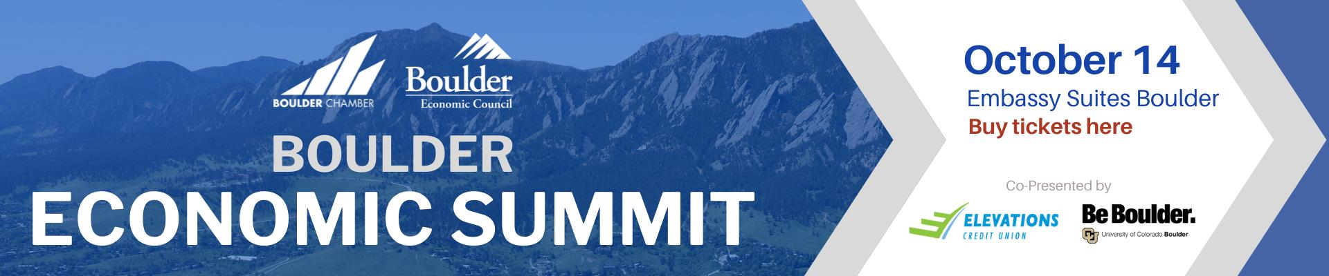 Boulder Economic Summit