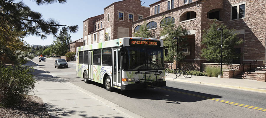 Boulder Ranks Second In The Nation For Public Transportation Ridership Is Committed To Building Complete Streets And Providing Employees