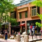 Pearl Street Mall Boulder